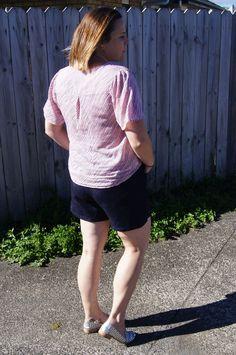 Megan Nielsen Harper shorts and skort sewing pattern tester roundup! Sewing Blogs, Sewing Tutorials, Sewing Patterns, Skort, Short Sleeve Dresses, Inspiration, Fashion, Biblical Inspiration, Moda