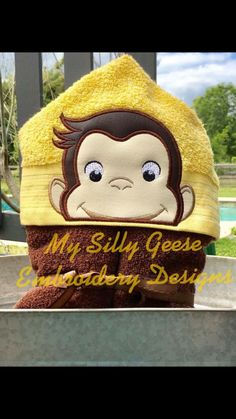 My Silly Geese Curious George Peeker Dropbox only Freebie