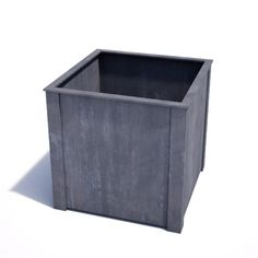 This Square Planter is by UK designer makers, Garden Requisites. The very best in zinc galvanised steel lead look planters, weatherproof and wonderful to fill with bold planting such as spring Tulips Zinc Planters, Square Planters, Garden Planters, Steel Planter, Metal Trellis, Backyard Water Feature, Garden Structures, Galvanized Steel, Topiary