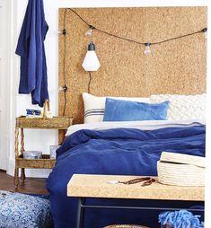 sänggavel kork - Sök på Google Comforters, Blanket, Google, Furniture, Home Decor, Creature Comforts, Quilts, Decoration Home, Room Decor