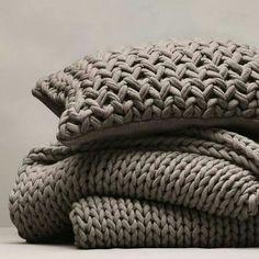 Mantas almohadones Tejidos.