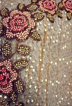 Antique Dress detail