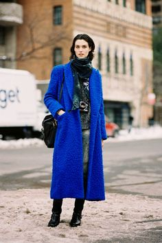Vanessa Jackman: New York Fashion Week AW 2014....Manon