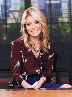 """Kelly Ripa admits she believes in the benefits of BOTOX!   """"It makes my makeup artist's life easier,"""" said the """"Live With Kelly & Michael"""" host to ELLE magazine about using this cosmetic enhancement... """"It makes my eyes look a little more open on TV, which is where I happen to work right now."""""""