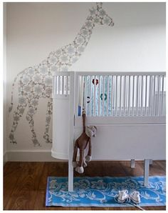 oversized wall decals - nursery notations