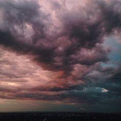 Amazing storm clouds