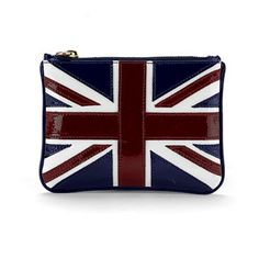 Mini flat cosmetic pouch   £39  Aspinal of London