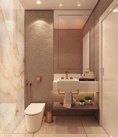 Washroom Design, Bathroom Design Luxury, Bathroom Design Small, Design Kitchen, Big Bathrooms, Beautiful Bathrooms, Small Toilet Design, Small Master Bath, Master Bathroom