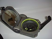 Caving equipment - Wikipedia, the free encyclopedia - a long time popular piece of gear for cave mapping is the Bruntion compass and clinometer.