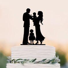 Wedding Cake Topper (Sweet Home Family Love /Little Girl Daughter Baby)