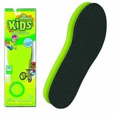 SPENCO KIDS COMFORT INSOLES SIZE (1) 5 - 6 1/2 by SPENCO. $13.00. Developed for sport activities requiring cleats or other footwear with minimal support or cushioning, these insoles protect kid's feet by providing a heel to toe cushioning and comfort with a layer of closed-cell Nitrogen injected Spenco material.