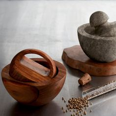 This mortar and pestle is going to put all the other mortar and pestles out of business...