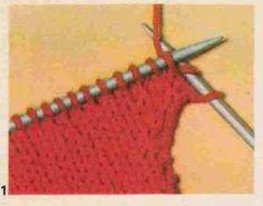 Tricot e Croche Passo a Passo Receitas: Como fazer aumentos em tricô