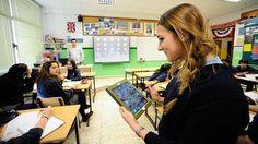 Los alumnos reciben notificaciones con los nuevos contenidos que suba el profesor.
