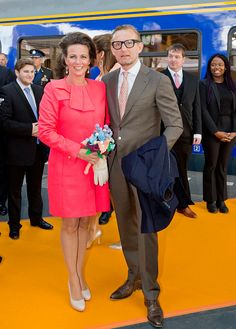 Prince Bernhard and Princess Annette of The Netherlands attend the King's 50th birthday during the Kingsday celebrations on April 27, 2017 in Tilburg, Netherlands.