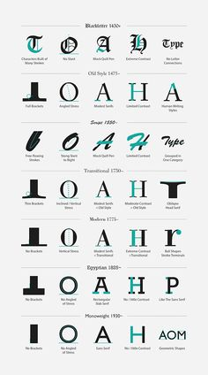TYPE Classification on Behance