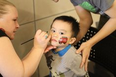 Add a whimsical touch of color to your face with Face Painting at Experience Italy!