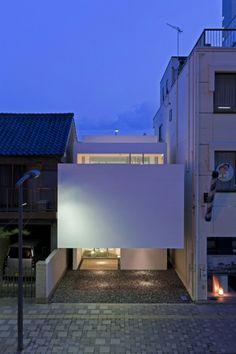 Proyecto: Machi House  Arquitectos: arquitectos UID / Keisuke Maeda  Ubicación: Fukuyama, Prefectura de Hiroshima, Japón