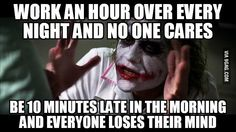 Work 9-5 and don't get paid for overtime