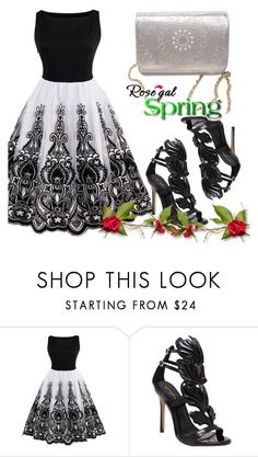 """ROSEGAL CONTEST"" by selmir ❤ liked on Polyvore featuring vintage"