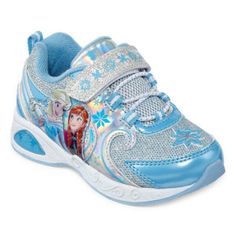 Disney Frozen Girls Sneakers - Toddler - JCPenney
