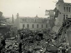 The direct hit on the large underground shelter in Durning Road, Edge Hill, was the worst single incident in the Liverpool Blitz as regards loss of life. This occurred in the early hours of 29 November 1940, during the heaviest air raid to date. About 300 people were tightly packed into a shelter in the basement of Edge Hill Training College in Durning Road.