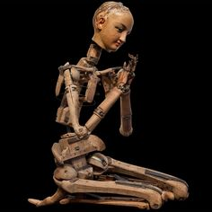 Life-Sized Skeletal Artist Model /Mannequin    Articulated figure with a paper mache painted head, jointed fingers, original stand, France circa 1860-1880...available at Obsolete