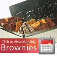 Brownie of the Month Club | Send Brownies - David's Cookies