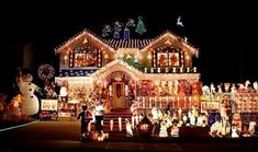 House Christmas Lights | light outside ideas some images include the griswold house a light ... #christmaslightsoutsidehouse