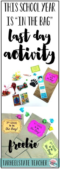 Fun, easy, cheap end of year activity to do on the last day of school! Perfect for all grade levels. Includes optional writing component! The basic idea of my