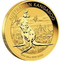 Buy 1 oz Kangaroo Gold Coins from Money Metals Exchange. From the Perth Mint, These Beautifully Made Australian Gold Coins can be Bought at the Lowest Premium Online! Gold Bullion Bars, Bullion Coins, Gold Coins For Sale, Gold Eagle Coins, Coin Store, Gold Stock, Mint Coins, Gold And Silver Coins, World Coins