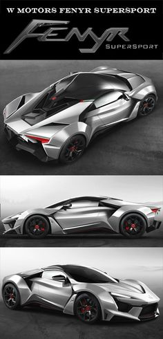 W Motors FENYR SUPERSPORT With over 900 HP, Set you back about $1.6 Mil