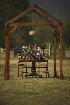 Wooden frame to go over welcome table or guest book table   Vintage Bohemian Wedding
