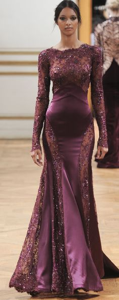 Zuhair Murad Fall 2013 Couture Fashion Show Collection: See the complete Zuhair Murad Fall 2013 Couture collection. Look 19 Zuhair Murad, Style Couture, Couture Fashion, Beautiful Gowns, Beautiful Outfits, Elegant Dresses, Pretty Dresses, Evening Dresses, Prom Dresses