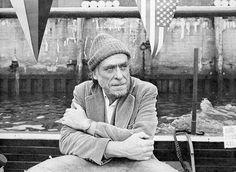 El escritor Charles Bukowski