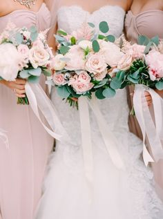 Pantone Color of the Year Rose Quartz  Wedding Details: http://www.stylemepretty.com/2015/12/03/pantone-2016-rose-quartz-serenity-wedding-inspiration/