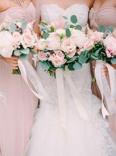 Pantone Color of the Year Rose Quartz Wedding Details: http://www.stylemepretty.com/2015/12/03/pantone-2016-rose-quartz-serenity-wedding-inspiration/
