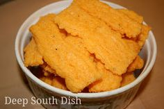 Deep South Dish: Southern Cheese Straws