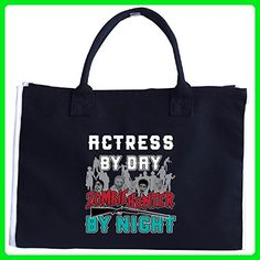 Actress By Day Zombie Hunter By Night - Tote Bag - Top handle bags (*Amazon Partner-Link)