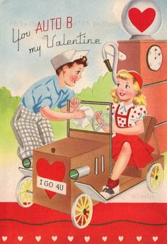 "Valentine's Day (February 14) is celebrated in many countries around the world. The day was first associated with romantic love in the High Middle Ages. In 18th-century England, it evolved into an occasion in which lovers expressed their love for each other by presenting flowers, offering confectionery, and sending greeting cards (known as ""valentines""): Vintage."