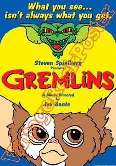 Cod. 503  GREMLINS  Director: Joe Dante  Cast: Phoebe Cates, Corey Feldman  Year : 1984