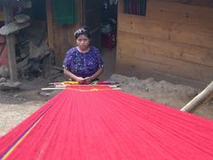 Weaving textiles on a backstrap loom is ancient practice in Mesoamerica (and all over the world!). The loom itself is quite simple, basically a collection of different sized and shaped sticks. It i…