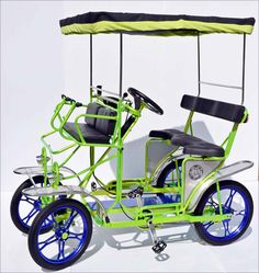 Surrey Bike, Quadricycle, 4 Wheel Bikes, 2 Person Bike & 4 Person Bike