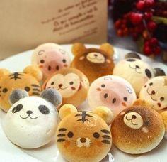 toast making panda cake