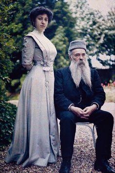 pinner wrote: Albert et Marie 1909 -autochrome photo Edwardian Era, Edwardian Fashion, Vintage Fashion, Victorian, Historical Costume, Historical Clothing, Belle Epoque, Vintage Photographs, Vintage Photos