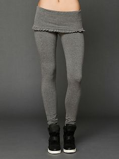 Foldover Long Legging
