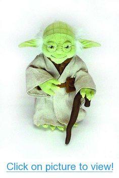 Poseable Plush Yoda Doll (Standard) #Poseable #Plush #Yoda #Doll #Standard