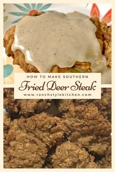 This is the BEST fried deer steak recipe I have ever made! The steak is so tender & full of flavor with a Southern kick! Fry this up & you're in for a treat! Deer Backstrap Recipes, Deer Tenderloin Recipes, Deer Steak Recipes, Elk Recipes, Game Recipes, Ground Venison Recipes, Venison Tenderloin, Recipies, Fried Deer Steak Recipe