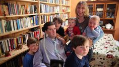 Simon with his wife, Ruth, and his five children Right To Die, Neurone, My Name Is, Feature Film, Dating Advice, Human Rights, Self Help, Filmmaking, This Or That Questions