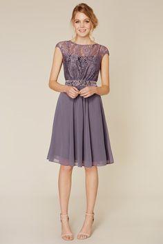 Lori Lee | Purples Lilacs LORI LEE LACE SHORT DRESS | Coast Stores Limited